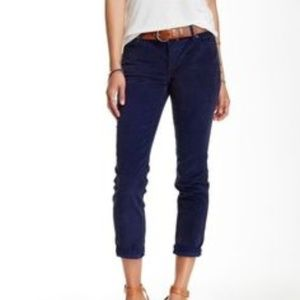 Free People | NEW Cropped Corduroy Skinny Jeans